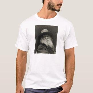 Camiseta El poeta de risa Walt Whitman del filósofo