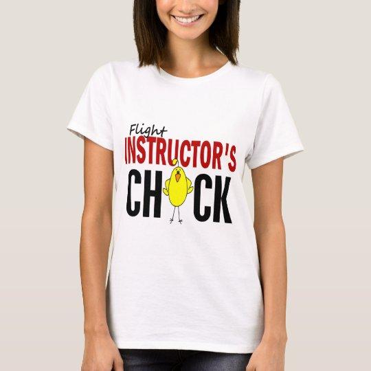 Camiseta El polluelo del instructor del vuelo