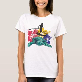 Camiseta El practicar surf en Hawaii 60