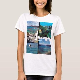 Camiseta El practicar surf en Hawaii 81