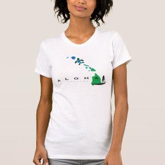 Camiseta El practicar surf en las islas 415 de Hawaii