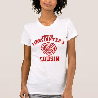 Camiseta El primo del bombero orgulloso