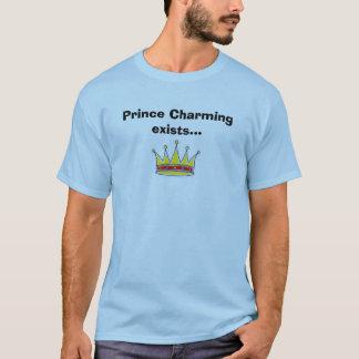 Camiseta El príncipe el encantar existe…