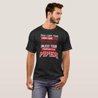 Camiseta El problema es un GAITERO. Cumpleaños del regalo