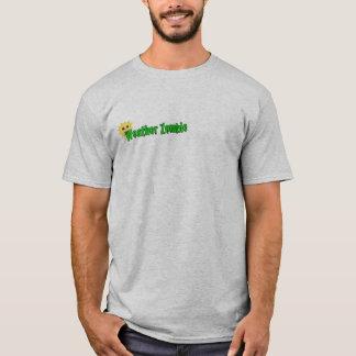 Camiseta ¡El pronóstico es cerebros!!! (del ejemplo parte