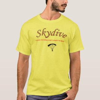 Camiseta Él que vacila heredará la tierra (skydive)