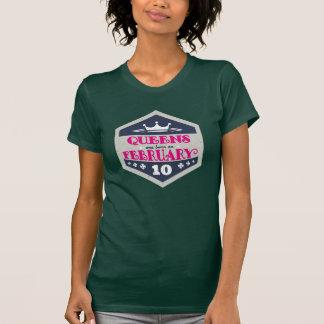 Camiseta El Queens nace el 10 de febrero (el Grunge)