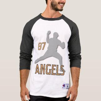 Camiseta El raglán de 3/4 coche de la manga de Chino Hills