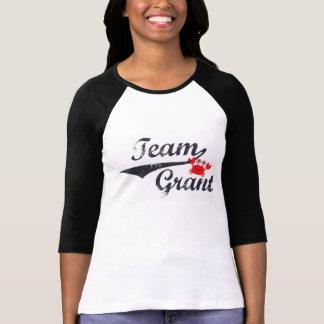 Camiseta El raglán de las mujeres de Grant del equipo -
