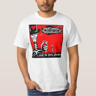 Camiseta El Rasguño-Yo viejo oye la risa del diablo