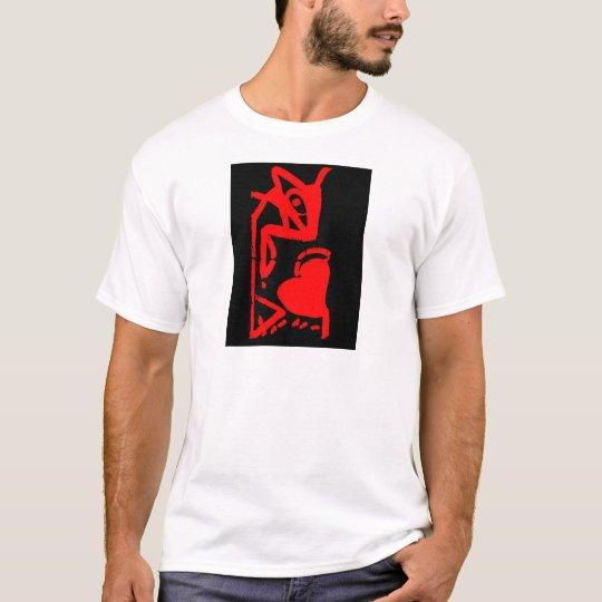 Camiseta El raton comiendo corazón
