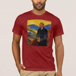 Camiseta El retrato de Friedrich Nietzsche por Edvar masca
