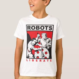 Camiseta El robot le fija libre