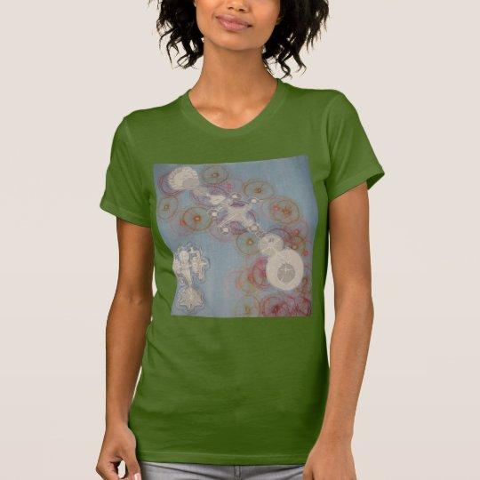 Camiseta El robot soña estilos de las mujeres de los