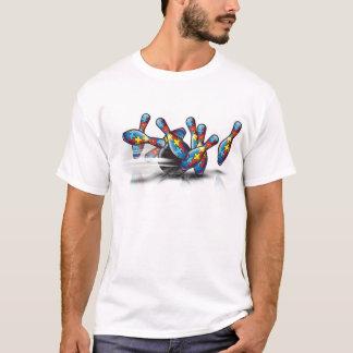 Camiseta El rodar para el autismo