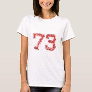 Camiseta El rojo se divierte Jerzee número 73