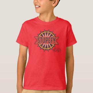 Camiseta El rojo y el oro dejan estupefacto el gráfico del