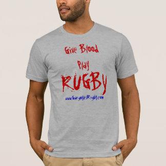 Camiseta El RUGBI, da BloodPlay, www.GargoylesRugby.com