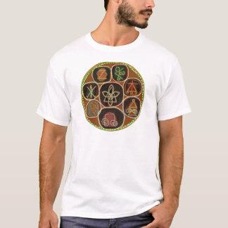 Camiseta El SELLO de CURA:  Emblema de Karuna Reiki
