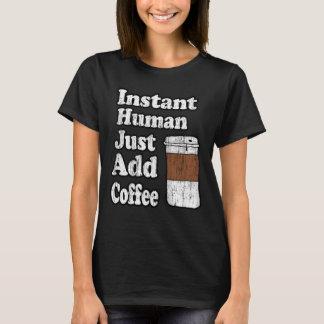 Camiseta El ser humano inmediato del vintage apenas añade