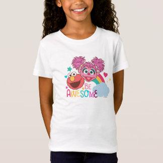 Camiseta El Sesame Street el | Elmo y Abby - sea