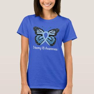 Camiseta El síndrome de Edwards: Trisomy 18