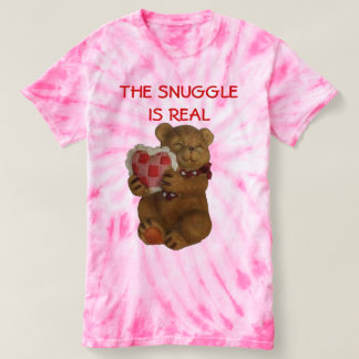 Camiseta El Snuggle es oso de peluche real