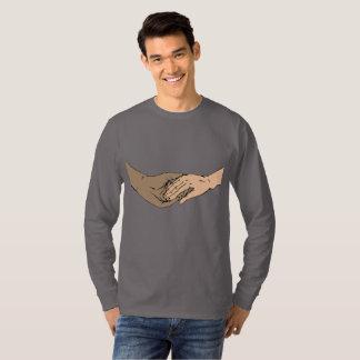 Camiseta El SSA da la manga larga clásica (los hombres)