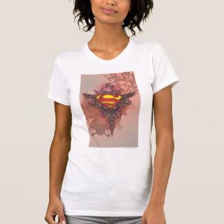 Camiseta El superhombre Stylized el logotipo del diseño del