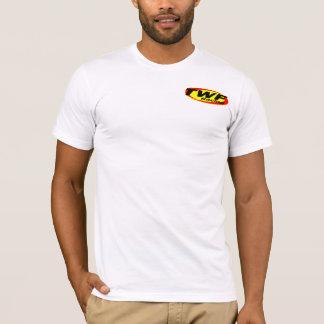 Camiseta El T de los hombres de TWF, blanco