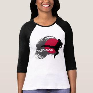Camiseta El Taekwondo para mujer con las mangas