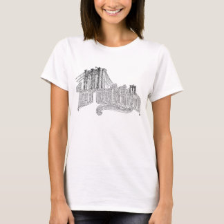 Camiseta El tanque de las señoras de Brooklyn