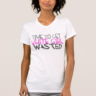 Camiseta El tanque perdido chica blanco