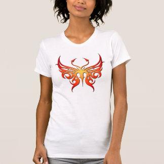 Camiseta ¡El tanque rojo y amarillo de la mariposa!