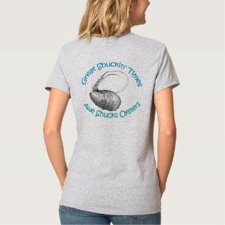 Camiseta El temor desvaina ostras