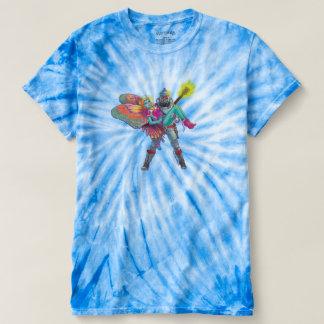 Camiseta El teñido anudado resuelve estallido de la ciencia