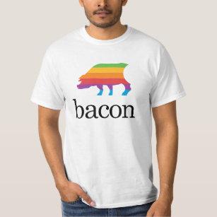 Camiseta El tocino Apple parodia