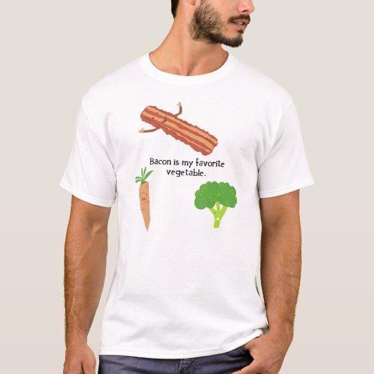 Camiseta El tocino es mi verdura preferida
