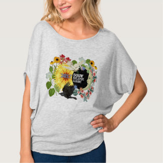 Camiseta El top/el personalizable de las mujeres del