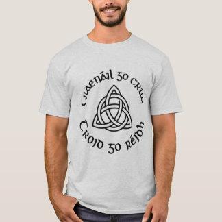 """Camiseta El """"tren gaélico difícilmente, lucha fácil """""""