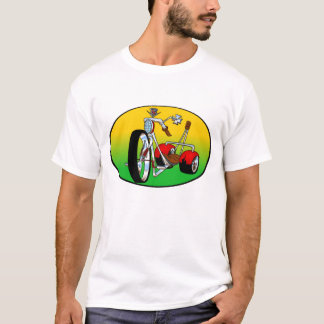 Camiseta el triciclo del trike ejerció de chulo hacia fuera
