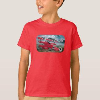 Camiseta El triplano de Fokker del barón rojo