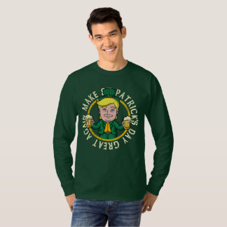Camiseta El triunfo hace el día de St Patrick grande otra