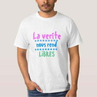 Camiseta El verite del La nous rend libres
