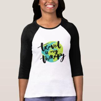 Camiseta El viaje es mi terapia