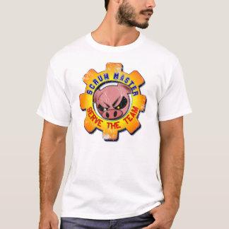 Camiseta El vintage principal del melé - sirva al equipo