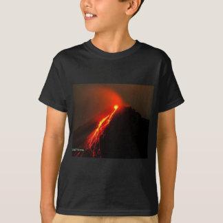 Camiseta El volcán tiene gusto de AMOR en mi corazón