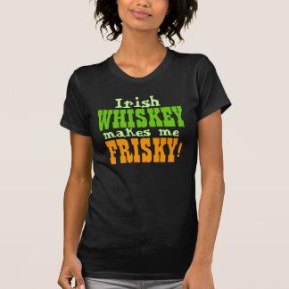 Camiseta El whisky irlandés me hace juguetón