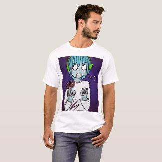 Camiseta El zombi embroma la camisa: Muchacho del