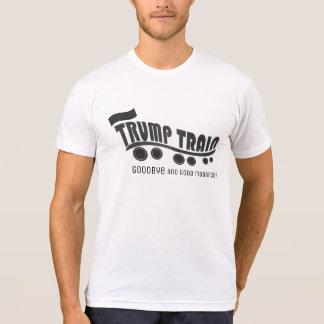 Camiseta Elección 2016 del tren del triunfo   del antitrump